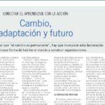cambio, adaptación y futuro