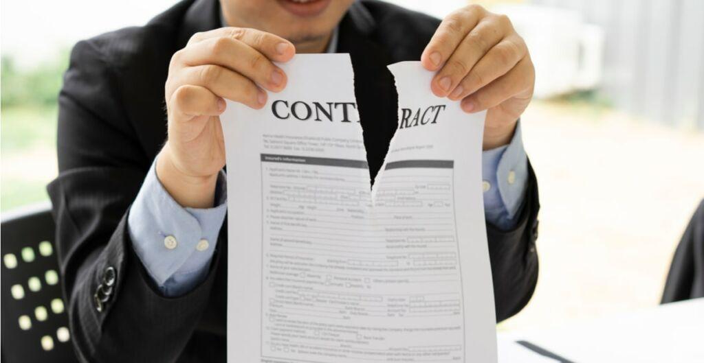 contratos, relaciones comerciales problemas